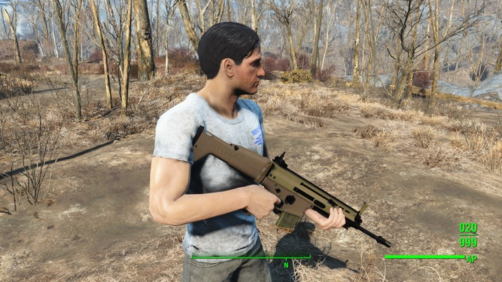 FN SCAR Mk17a