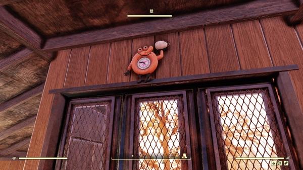 スローカムズの壁掛け時計