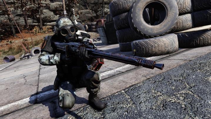 Fallout 76 B.O.S.とLMG