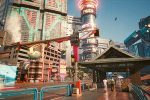 Cyberpunk 2077 街並み