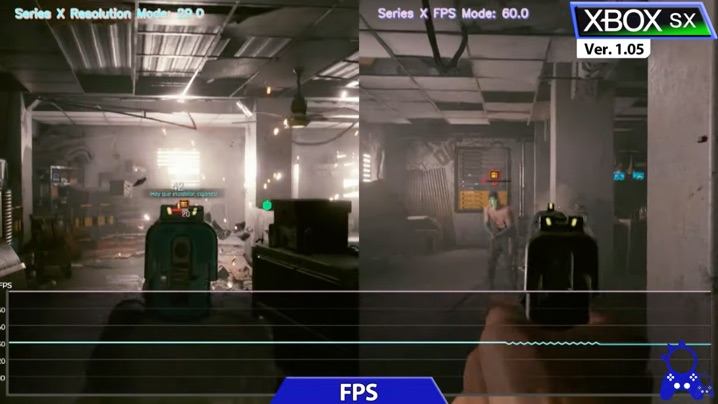 Cyberpunk 2077 動作比較 戦闘中