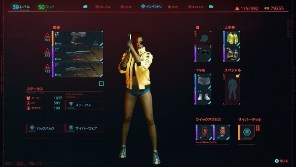 Cyberpunk 2077 LV39
