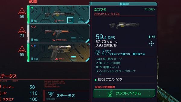 Cyberpunk 2077 ネコマタ