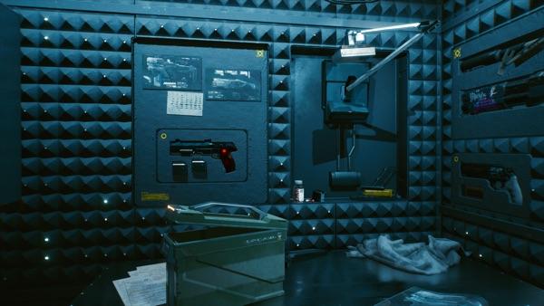 Cyberpunk 2077 武器庫1