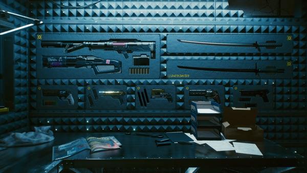 Cyberpunk 2077 武器庫2