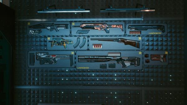 Cyberpunk 2077 武器庫3