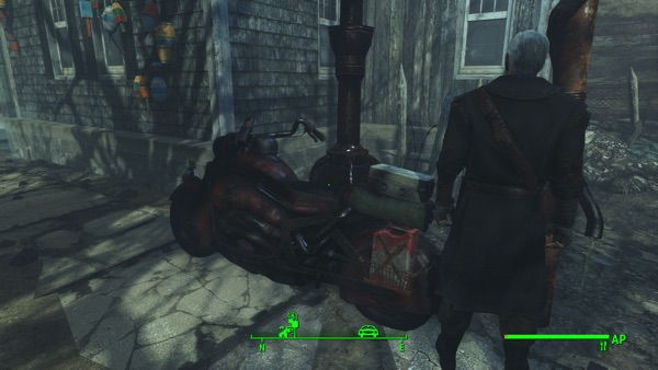 Fallout 4 バイク