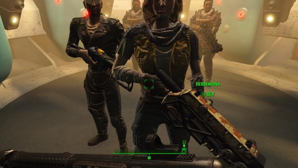 Fallout 4 デズデモーナ