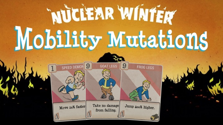 Nuclear Winter Mobility Mutations1