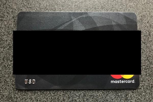 海外発行のカード